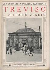 LE CENTO CITTA' D'ITALIA ILLUSTRATE - TREVISO - N.20 - 1924