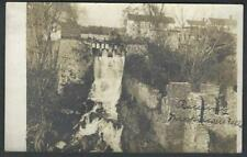 Real Photo Postcard Bridge Wappingers Falls New York RPPC 1910