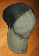 a5584981c TEVA A-FLEX GREEN   BLACK MEN S TRUCKER CAP OSFM NWOT