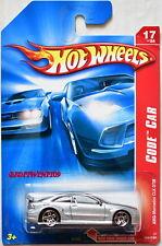 Hot Wheels 2007 Código Coche Amg-Mercedes CLK DTM #17 / 24 Plata con +