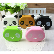 Travel Soak Storage Contact Lens Case Holder Box Container Panda Design HGUK
