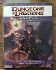 DUNGEONS & DRAGONS: Arcane Power for Bards Sorcerers Swordmages Warlocks Wizards