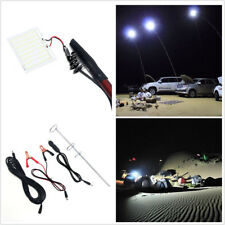 Car LED Lantern Outdoor Camping Lamp  48W Telescopic Fishing Rod Remote Control