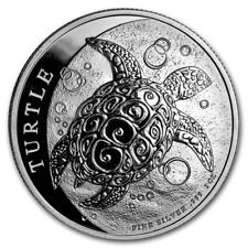 NIUE 2 Dollars Argent 1 Once Tortue 2019