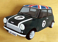 Mini Car Fridge Magnet, 60s Mod Mini Car Fridge Magnet, Union Jack Mini Cooper