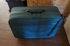 SAMSONITE Trolley Reisekoffer Koffer Stoff 4 Rollen grün