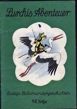 Lurchis Abenteuer lustige Salamandergeschichten 46.Folge von 1969 Werbecomicheft