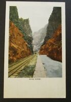 1903 Royal Gorge Colorado Springs to Canada Real Picture Postcard Cover