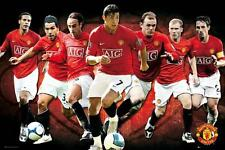 Manchester United Spieler 2008 - 2009 - Maxi Poster 61cm x 91.5cm new and sealed