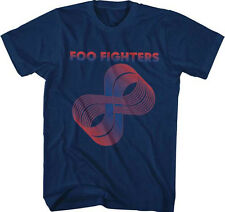 Foo Fighters-Loops-XXL Navy Blue T-shirt