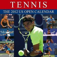 Tennis: The 2012 US Open Calendar: 2012 Wall Calendar, United States Tennis Asso