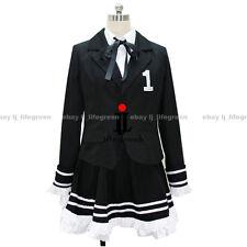 VOCALOID Hatsune Miku Secret Police Cosplay Costume Clothing Uniform Cos Clothes