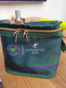 WIMBLEDON TENNIS SUMMER 2021 SIPSMITH GIN AND TONIC OFFICIAL CARRY BAG