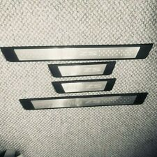MG ZS DOOR SILL SCUFF PLATES SILVER LOGO ON ABS SUBSTRATE - MG013