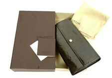 Authentic Louis Vuitton Patent Vernis Leather Purse Coin Credit Card Wallet