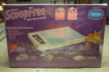 One Pet Safe Scoop Free Litt 00004000 er Box Tray Refill Disposable Kitty Cat
