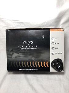 Avital 1-Way Remote Ingobernable Start With Keyless Entry Model 4103