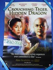 crouching tiger hidden dragon video store Vhs original film poster movie