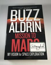 Buzz Aldrin Signed Book Mission to Mars Auto