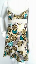 MONSOON summer cotton dress size 8 --MINT--USED ONCE-- 100% Cotton floral lined