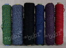SIX PACK RUG MAKING CUSHION TAPESTRY BAG YARN STRONG THICK WEAVING WOOL NYLON