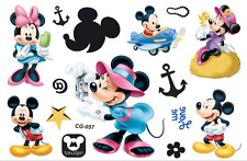 MINNIE MICKEY MOUSE childrens Temporary Body Tattoo Stickers Party Favors Gift