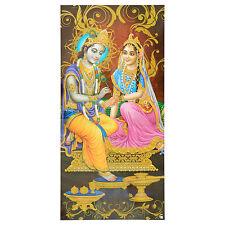 Immagine Radha & Krishna 100 x 50 cm induismo credo arte religione stampa