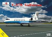 Amodel 72327 - 1/72 Amodel 72327 C-37b Gulfstream, scale plastic model kit