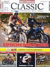 MC0902 + HONDA CB 750 + BMW R 75/5 + OSSA 250 Trial + MOTORRAD CLASSIC 2/2009