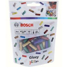 Bosch Gluey Klebesticks, Glitzer-Mix 70 Stück, Glittermix, 7 x 20 mm, 50 g