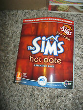 """The Sims HOT DATE EXPANSION PACK - Book """"EA GAMES""""       Official Strategy Guide"""