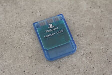 Sony Playstation 1 PS1 Genuine Memory Card (SCPH-1020) Island Blue