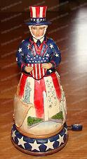 Patriotic Forever, Uncle Sam (Jim Shore Heartwood Creek, 4044669) Musical