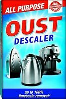 Oust All Purpose Descaler Limescale Remover Cleaner Coffee Kettle Iron 3 x 25ml