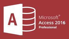 Microsoft Access 2016 Professional 32/64 Bit Lizenz-3 Minute Versand - Original