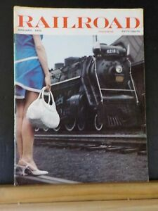 Railroad Magazine 1970 January Roster of Sperry Rail Service New Life for Old En