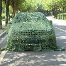 NEW Green Camouflage Net Hunting Camo Netting Camping Sunshades Tent Cover Decor