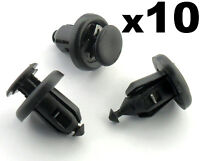10x Honda Bumper, Engine Undertray & Wheel Arch Lining, Splashguard Trim Clips