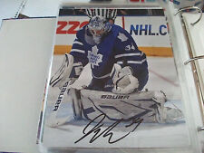 JAMES REIMER TORONTO MAPLE LEAFS RED DEER REBELS AUTOGRAPHED 8 X 10 PHOTO