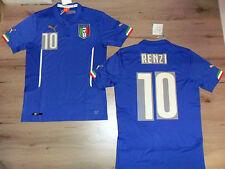 FW14 PUMA M HOME ITALIA 10 MATTEO RENZI CAMISETA MUNDIALES SHIRT JERSEY