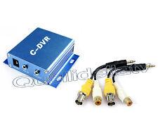 DVR 1 CH PORTATILE AUDIO VIDEO REGISTRA MICRO SD MAX 32 GB IN OUT 1 CANALE MINI