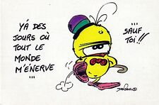 Carte Postale illustrateur Dan Salel - Le Piaf n° 51