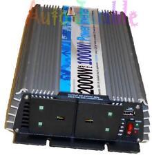 motorhome T4 T5 2000W PEAK 1000W 12v - mains power socket inverter converter USB