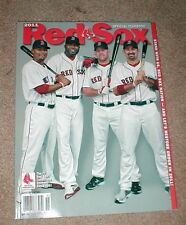 OFFICIAL 2011 BOSTON RED SOX YEARBOOK, PICTURES, STATS & MORE