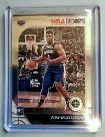 Zion Williamson 2019-20 NBA Hoops #296 Rookie Base Premium Stock