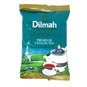 DILMAH Premium BOPF Black Tea Single Origin Pure Ceylon Tea 100g From Sri Lanka