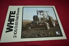 White 100 120 140 160 185 Tractor Dealer/'s Brochure YABE18