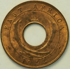 New Listing1942 Red Brown Brilliant Unc East Africa 1 Cent Free Shipping