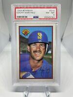 1989 Bowman Edgar Martinez #216 PSA 8 Hall Of Fame HOF Seattle Mariners 🔥🔥🔥