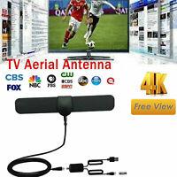 Fernsehantenne Indoor HD 4K TV Antena Digital 5DBI DVB-T2 Verstärker 240Meilen